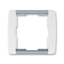 Rámeček jednonásobný Element bílá / ledová šedá