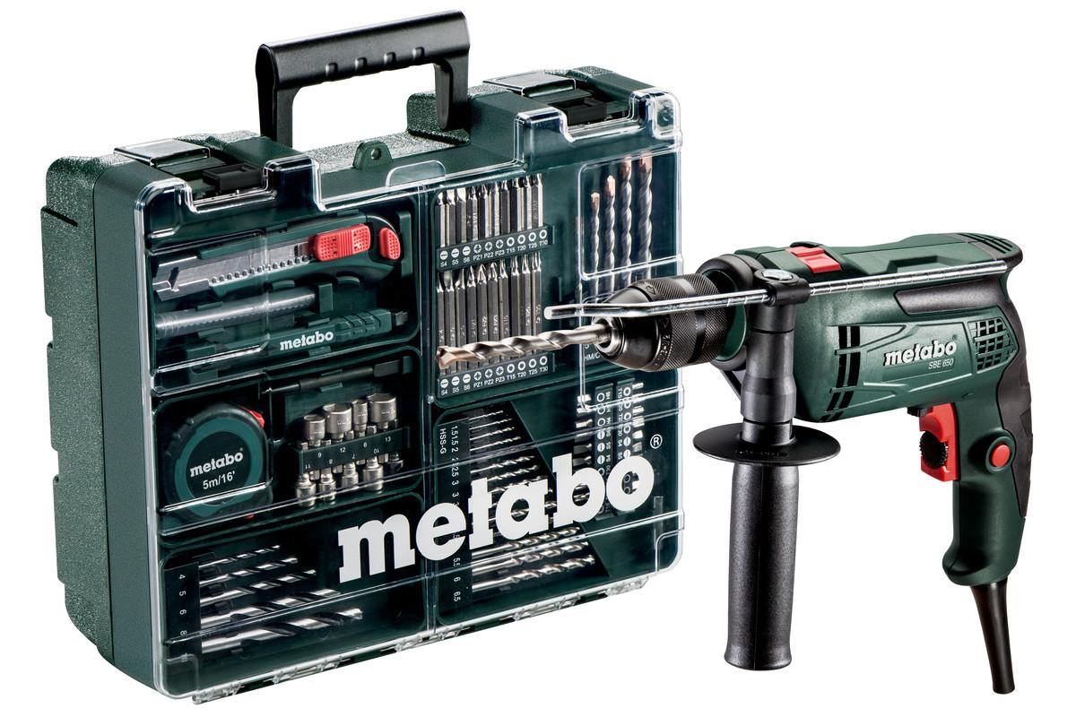 Příklepová vrtačka Metabo SBE 650 Mobilní dílna