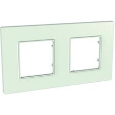 Rámeček dvojnásobný, Unica Quadro, green