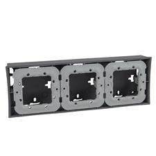 Krabice nástěnná Schneider Unica, technico, trojnásobná