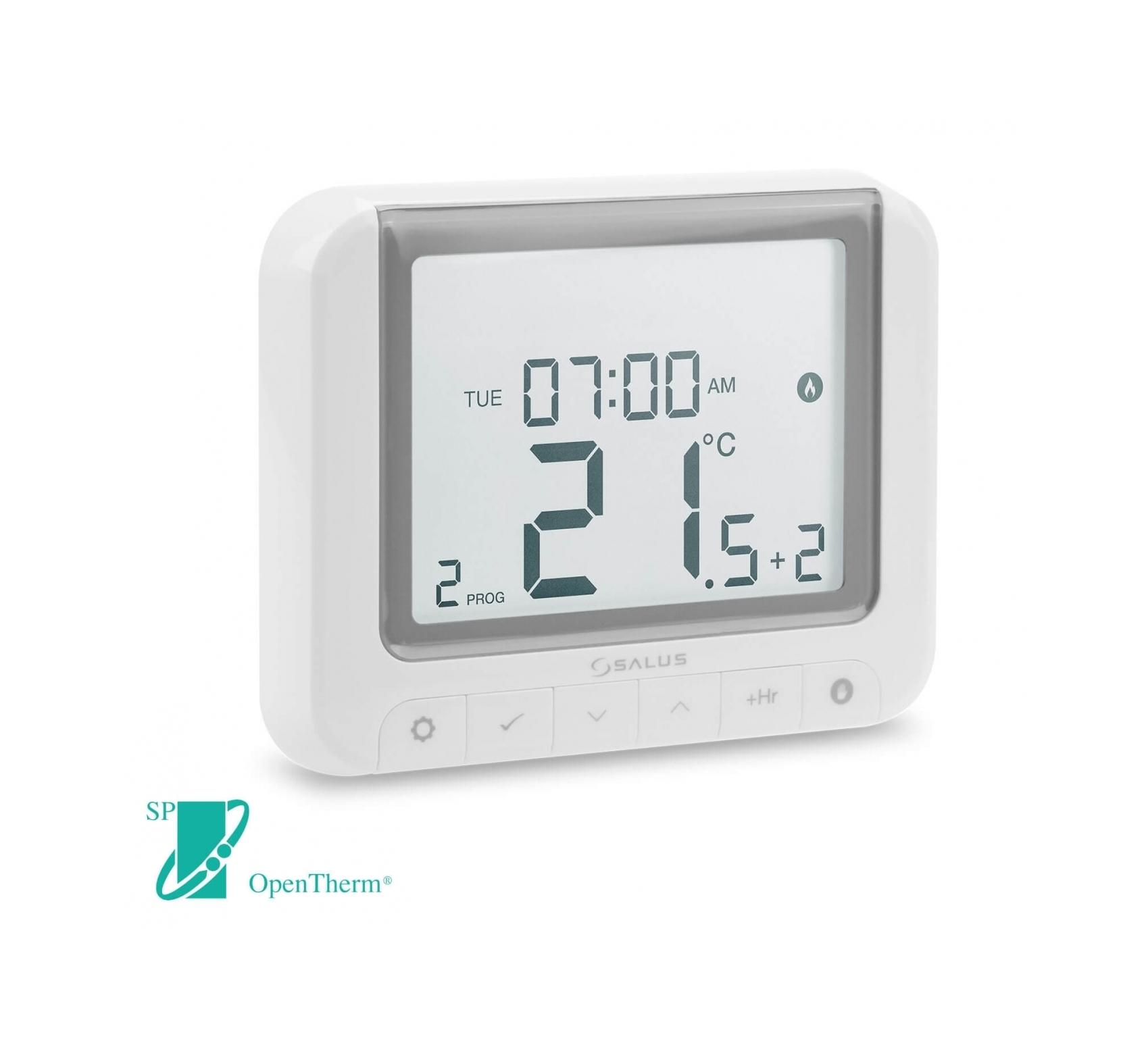 Týdenní programovatelný termostat SALUS RT520, 230 V