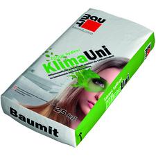 Omítka jednovrstvá Baumit KlimaUni vápenocementová 0,6 mm 25 kg