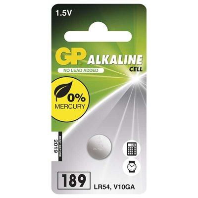 Baterie alkalická knoflíková GP LR54(189F) (1 ks/bal)