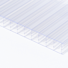 Polykarbonátová dutinková deska MULTICLEAR 16 STRONG 6W čirá s UV ochranou 2100×4500mm