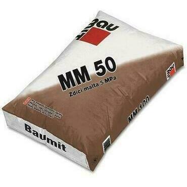 Malta zdicí Baumit MM 50 25 kg