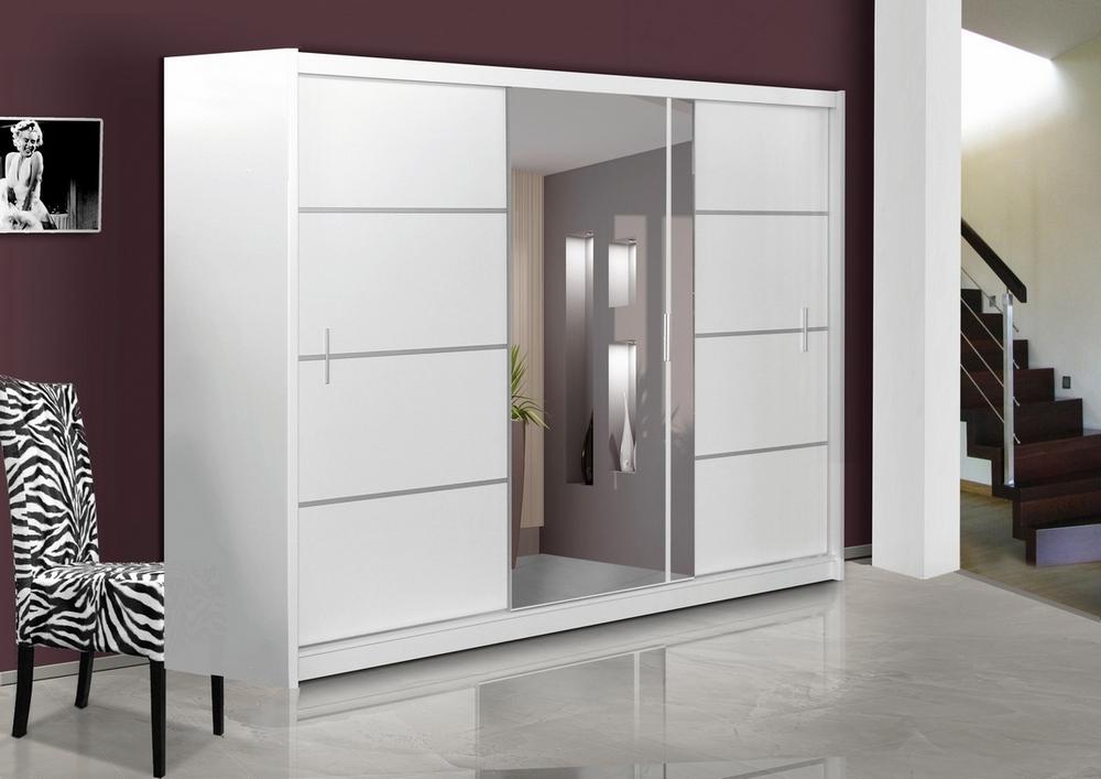 Šatní skříň VISTA 250 bílá, cena za ks