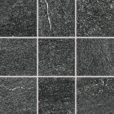 Dlažba Rako QUARZIT 10×10 cm černá DAR12739