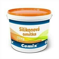 Omítka silikonová Cemix zatíraná 1,5 mm bezpř., 25 kg