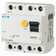 Chránič proudový Eaton PF7-25/4/003 10 kA 4pól 25 A