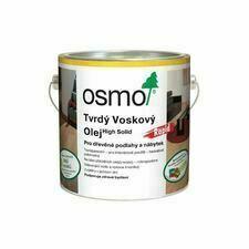 Olej tvrdý voskový Osmo Rapid 3240 bílý 2,5 l