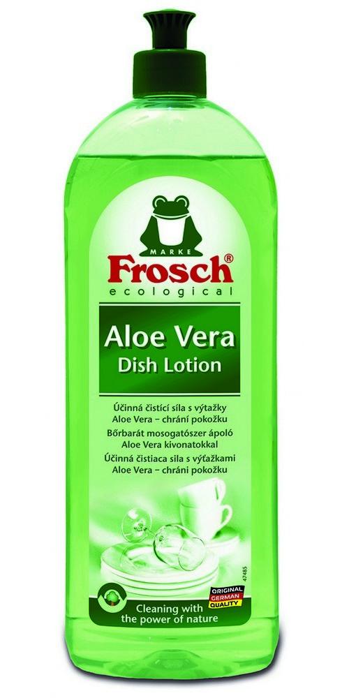 Prostředek na mytí nádobí FROSCH EKO Aloe Vera 750 ml, cena za ks