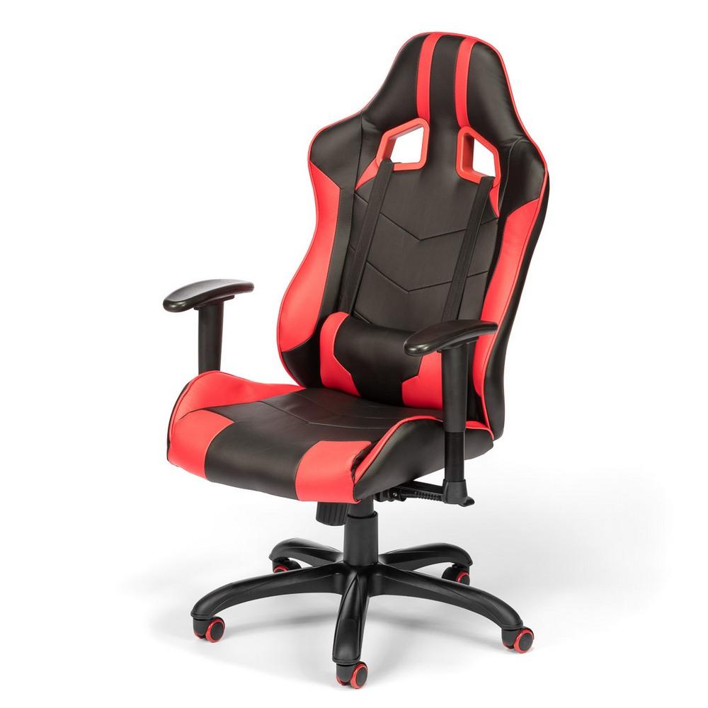 Kancelářská židle RACE, červená, cena za ks