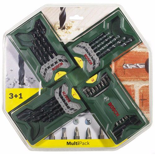 """Sada nářadí Bosch 3+1 Mini-X-Line """"Multipack"""""""