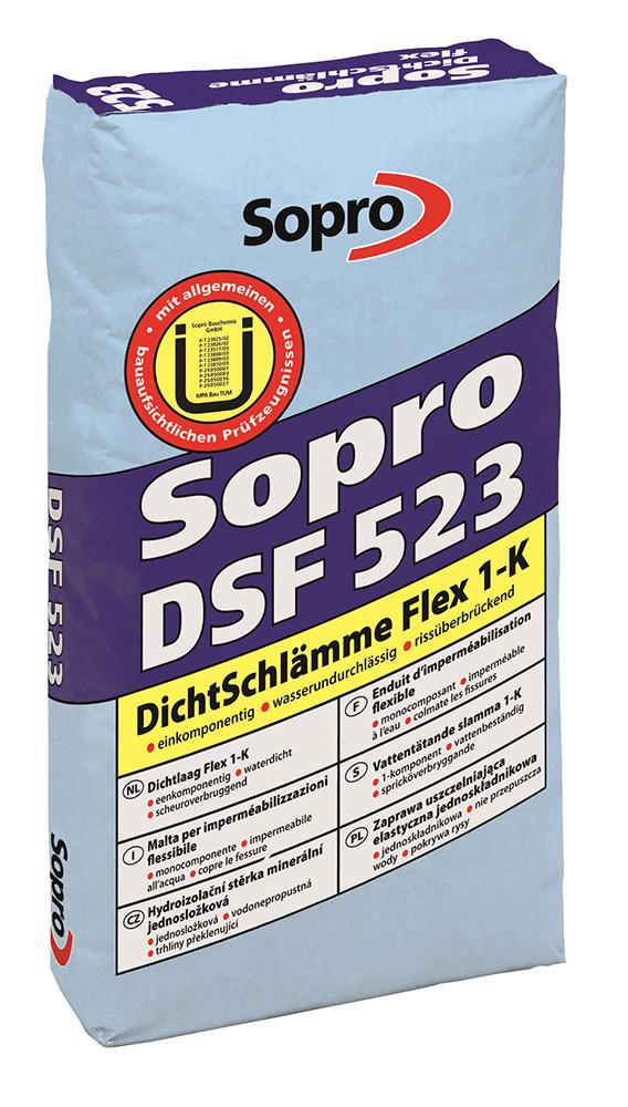 Spárovací hmota Sopro DSF 523 do vlhkého prostředí 10kg/bal