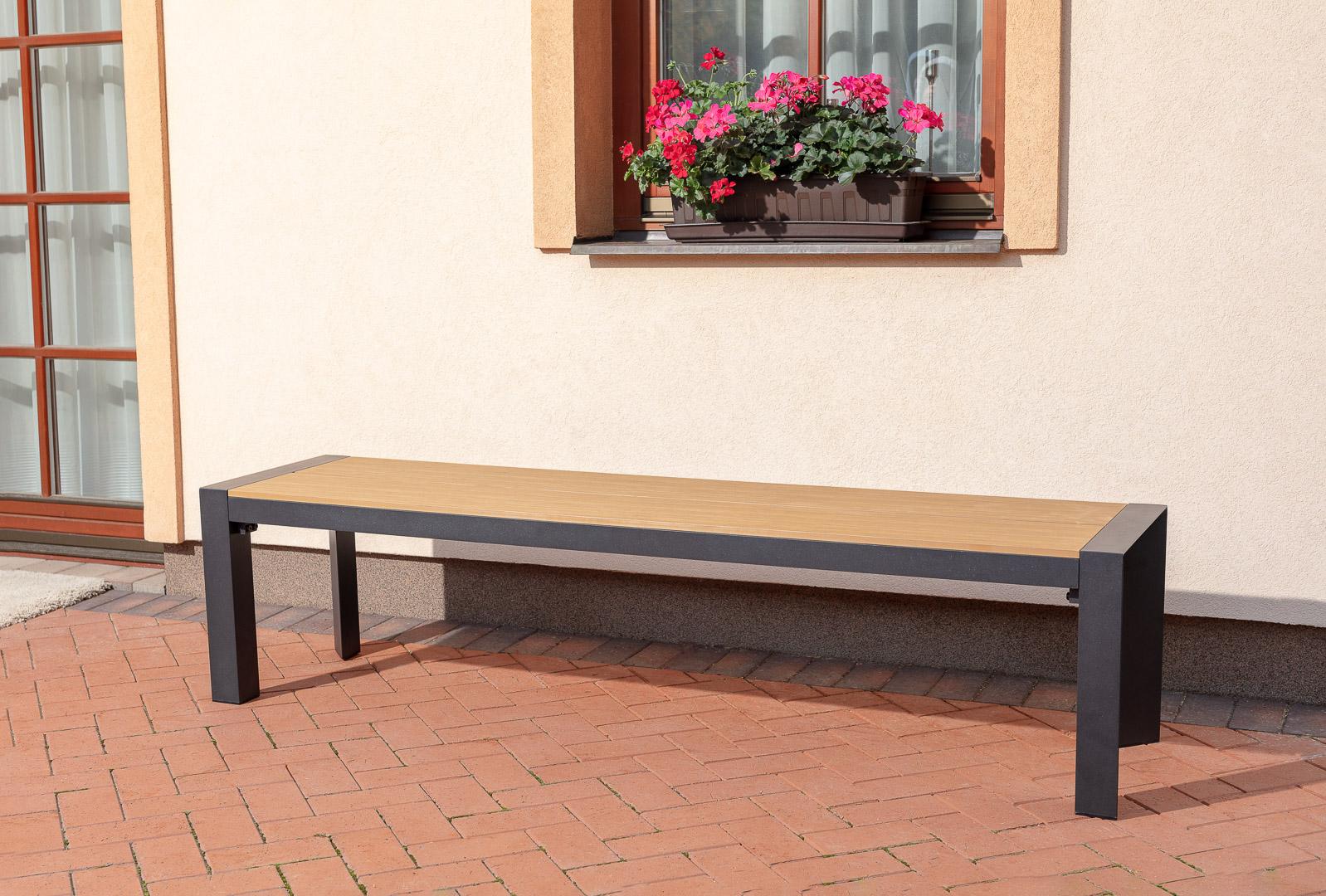 Zahradní lavice VERONA 180, cena za ks