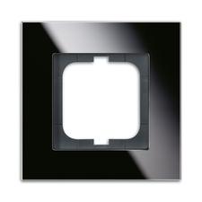 Rámeček jednonásobný Solo carat černé sklo
