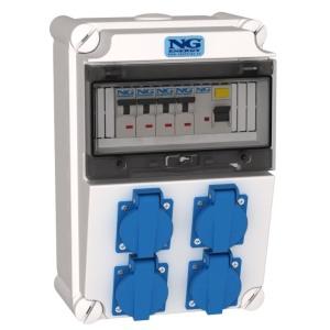 Kombinace zásuvková jištěná NG Energy SC 31 309 E.01, IP 44