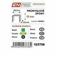 Spony PROFI 345/10 mm ENPRO, 5000 ks/bal.