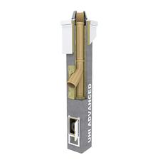 Komínová zostava Schiedel UNI Advanced  jednoprieduch 20/45  6m s prefabrikovanou pätou