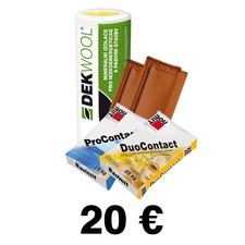 Poukážka na odber tovaru zo STAVEBNÍN DEK 20€