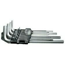 Imbusové kľúče CrVa 1,5-10 mm, sada 9ks/bal.