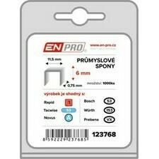 Spony PROFI 530/12 mm ENPRO 1000 ks/bal.