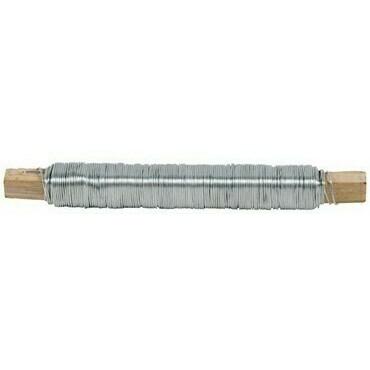 Viazací drôt z pozinkovanej ocele, priemer 0,8 mm, dĺžka 100 m