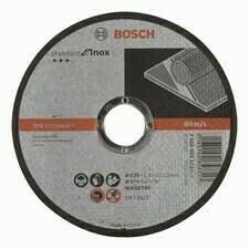 Rezný kotúč na nehrdzavejúcu oceľ Bosch Standard for Inox-Rapido,priemer 125 mm,hr.1,6 mm (50ks/obj)