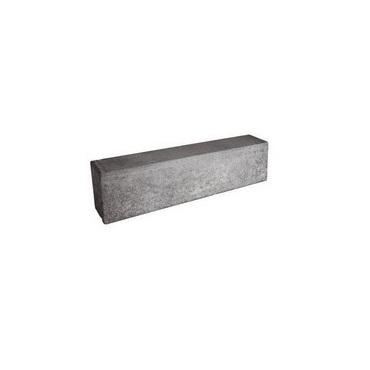 Cestný obrubník bez skosenia PREMAC (100x26x15 cm) sivý