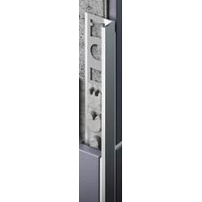 Profil ukončovací L Celox 8 mm elox strieborný