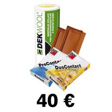 Poukážka na odber tovaru zo STAVEBNÍN DEK 40€