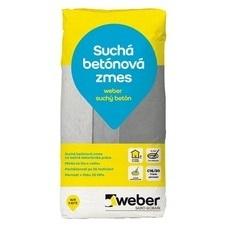 Suchá betónová zmes pre ručné spracovanie Weber suchý betón, 25kg
