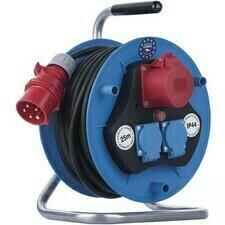 Kábel predlžovací gumový na bubne 230 V / 400 V 25 m