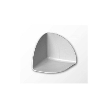 Detailová tvarovka ALKORPLAN vnútorný kút, šedá