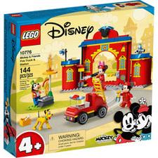LEGO® MICKEY Hasičská stanica, auto Mickeyho a priateľov
