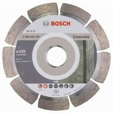 Diamantový rezací kotúč na betón Bosch DIA Standard for Concrete, priemer 125 mm (1ks/obj)