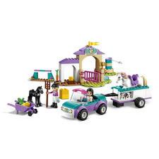 LEGO® FRIENDS Auto s prívesom a výcvik koňa