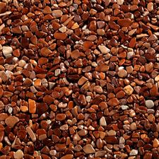 Topstone mramorový kamienok Marrone Mogano, frakcia 4-7mm, 25kg