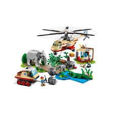 LEGO® CITY Záchranná operácia v divočine