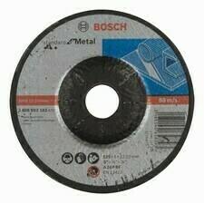 Obrusovací kotúč s prelisom na kov Bosch Standard for Metal, priemer 125 mm (10ks/obj)