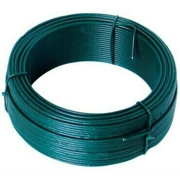 Viazací drôt z pozinkovanej ocele s PVC vrstvou, priemer 0,9(0,65) mm, dĺžka 30 m