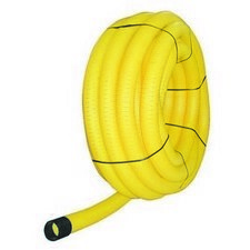 Drenážná PVC rúra ACO DN 100, žltá, 50 m