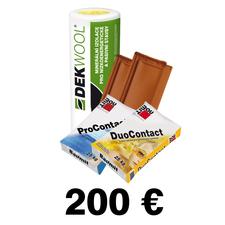 Poukážka na odber tovaru zo STAVEBNÍN DEK 200€