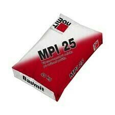 Vápennocementová vnútorná strojová omietka Baumit MPI 25 (MVS 25), 40 kg