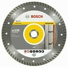 Univerzálny diamantový rezací kotúč Bosch DIA Standard for Universal Turbo, priemer 230 mm (1ks/obj)
