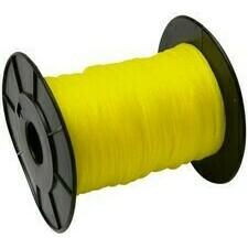 Stavebebný pleteny povrázok 50 m, biely 2 mm