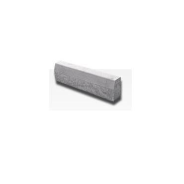 Cestný obrubník SEMMELROCK 15 cm, (100x15x25 cm) sivý