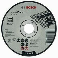 Rovný rezný kotúč na nehrdzavejúcu oceľ Bosch Expert for Inox - Rapido, priemer 125 mm (25ks/obj)