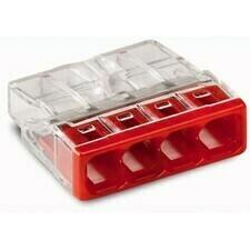 Svorka krabicová 4x2,5 mm2, WAGO 2273-204