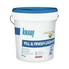 Univerzálny tmel pre finálne tmelenie Knauf Fill&Finish Light, 20 kg